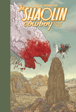 Shaolin Cowboy: Start Trek by Geof Darrow