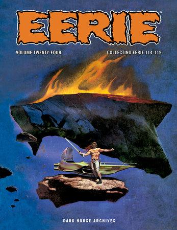 Eerie Archives Volume 24 by Victor de la Fuente
