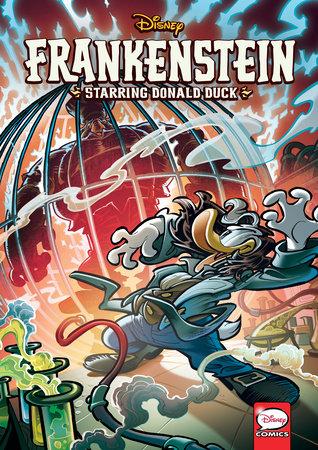 Disney Frankenstein, starring Donald Duck (Graphic Novel) by Bruno Enna