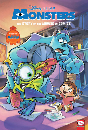 Disney/PIXAR Monsters Inc. and Monsters University: The Story of the Movies in Comics by Alessandro Ferrari