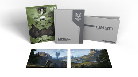 The Art of Halo Infinite Deluxe Edition by 343 Industries