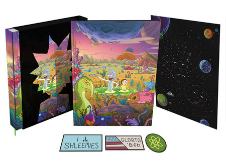 The Art of Rick and Morty Volume 2 Deluxe Edition by Jeremy Gilfor