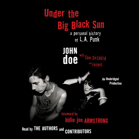 Under the Big Black Sun by John Doe and Tom Desavia
