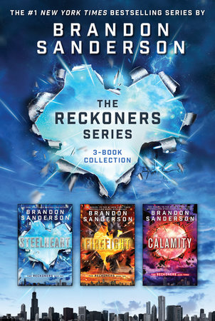 The Reckoners Series by Brandon Sanderson