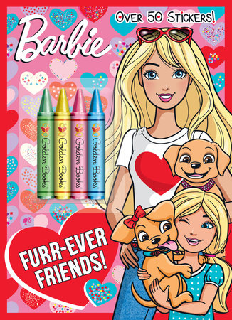 Furr-Ever Friends! (Barbie) by Mary Man-Kong