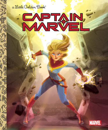 Captain Marvel Little Golden Book (Marvel) by John Sazaklis