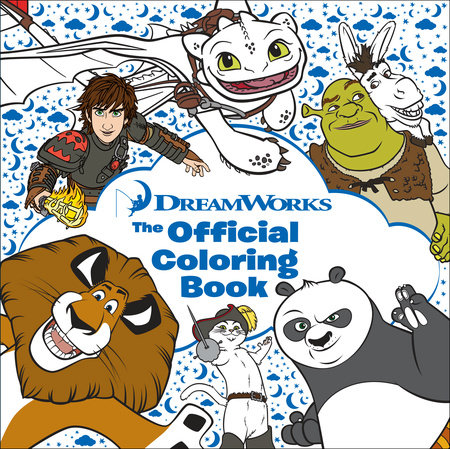 DreamWorks: The Official Coloring Book by Random House