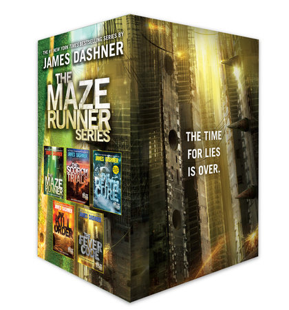 The Maze Runner Series Complete Collection Boxed Set (5-Book) by James Dashner