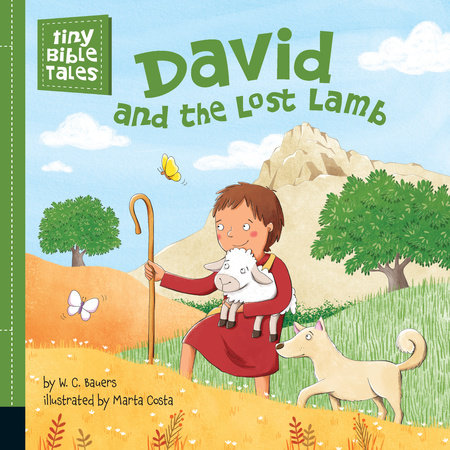 David and the Lost Lamb by W. C. Bauers; Illustrated by Marta Costa