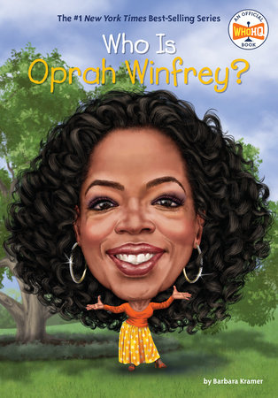 Who Is Oprah Winfrey? by Barbara Kramer and Who HQ