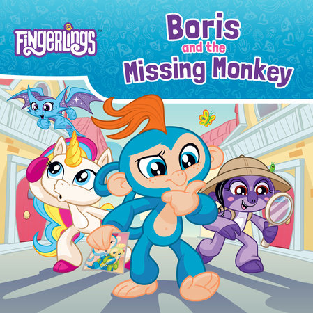 Boris and the Missing Monkey by Brooke Vitale