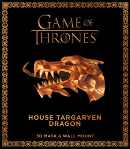 Game of Thrones Mask: House Targaryen Dragon (3D Mask & Wall Mount)