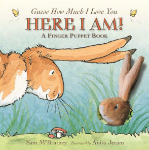 Here I Am!: A Finger Puppet Book