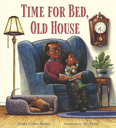 Time for Bed, Old House by Janet Costa Bates