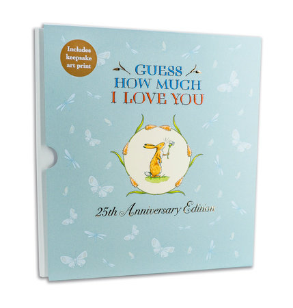Guess How Much I Love You 25th Anniversary Slipcase Edition by Sam McBratney and Anita Jeram