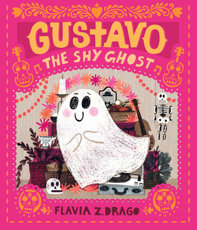 Gustavo, the Shy Ghost by Flavia Z. Drago