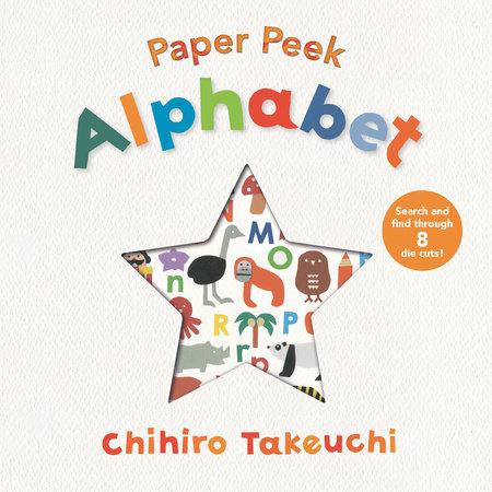 Paper Peek: Alphabet by Chihiro Takeuchi