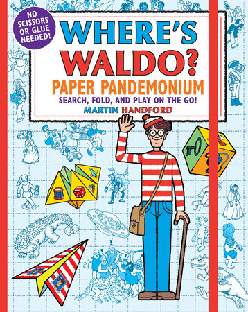 Where's Waldo? Paper Pandemonium by Martin Handford