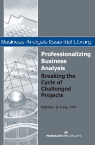 Professionalizing Business Analysis
