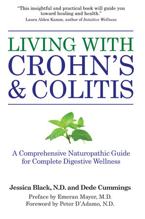 Living with Crohn's & Colitis by Jessica Black, N.D. and Dede Cummings