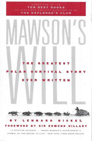 Mawson's Will by Lennard Bickel