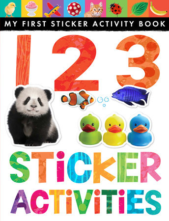 123 Sticker Activities by Jonathan Litton