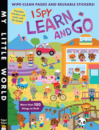 I Spy Learn and Go by Jonathan Litton