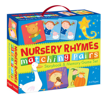 Nursery Rhymes Matching Pairs by Tiger Tales