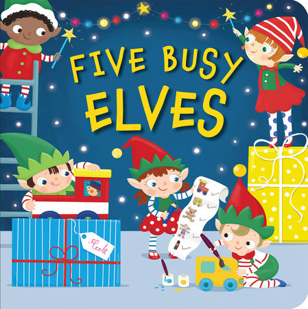 Five Busy Elves by Patricia Hegarty