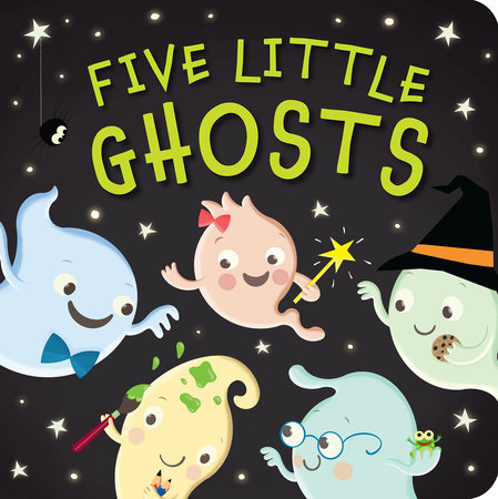 Five Little Ghosts by Patricia Hegarty