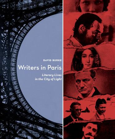 Writers In Paris by David Burke