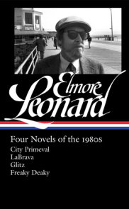Elmore Leonard: Four Novels of the 1980s (LOA #267)