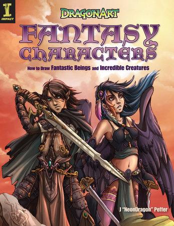 "DragonArt Fantasy Characters by Jessica Peffer ""Neondragon"""