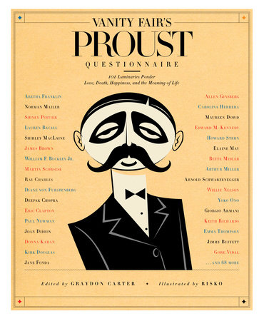 Vanity Fair's Proust Questionnaire by