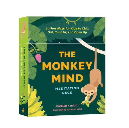 The Monkey Mind Meditation Deck by Carolyn Kanjuro