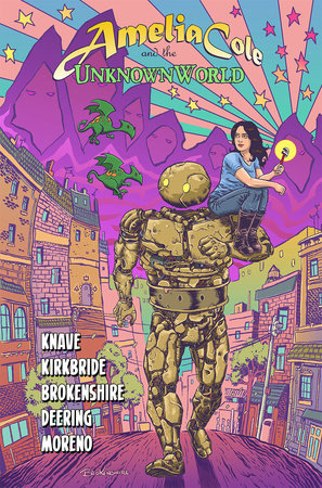 Amelia Cole and the Unknown World by Adam P. Knave and D.J. Kirkbride