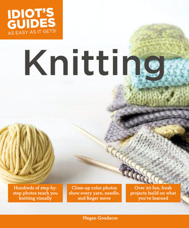 Knitting by Megan Goodacre
