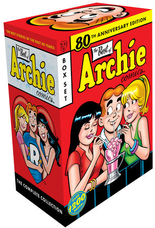 The Best of Archie Comics Books 1-3 Boxed Set by Archie Superstars