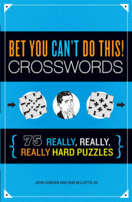 Bet You Can't Do This! Crosswords