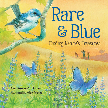Rare and Blue by Constance Van Hoven