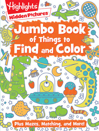 Jumbo Book of Things to Find and Color by