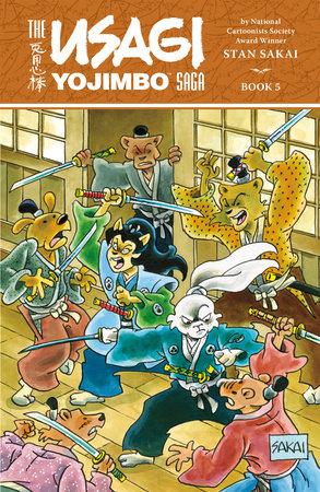Usagi Yojimbo Saga Volume 5 by Stan Sakai