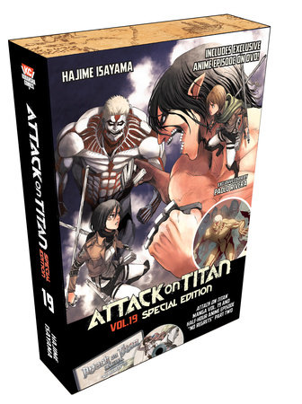 Attack on Titan 19 Manga Special Edition w/DVD by Hajime Isayama
