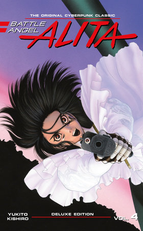 Battle Angel Alita Deluxe 4 (Contains Vol. 7-8)