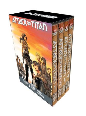 Attack on Titan Season 1 Part 1 Manga Box Set by Hajime Isayama