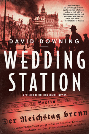 Wedding Station by David Downing