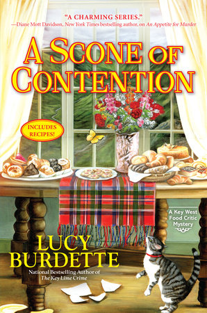 A Scone of Contention by Lucy Burdette