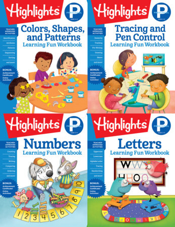 Highlights Preschool Learning Workbook Pack by Highlights Learning