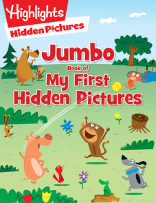 Jumbo Book of My First Hidden Pictures