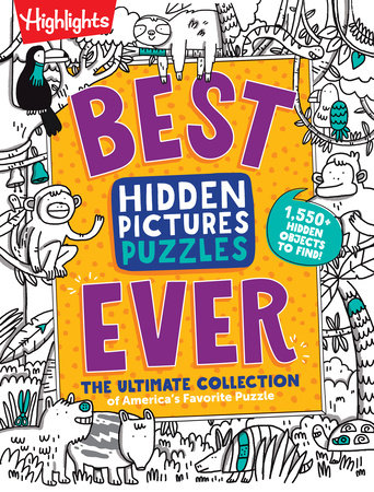 Best Hidden Pictures Puzzles EVER by